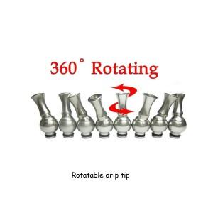 360° rotierendes Mundstück aus Metall für alle gängigen Verdampfer