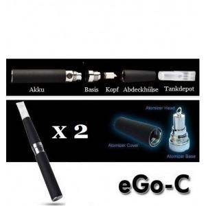 eGo-C 900 im Doppelset!